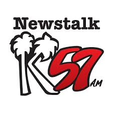K57AM Guam logo