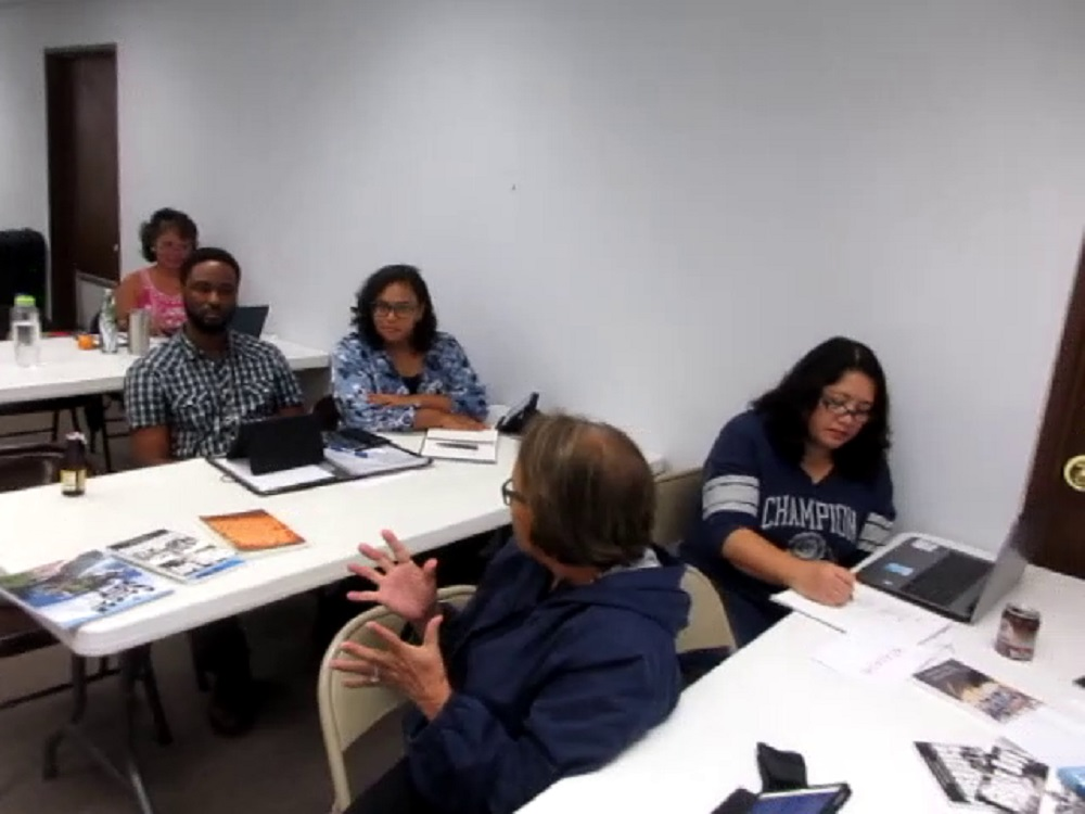 Rlene S. shares her writers block advice with the group